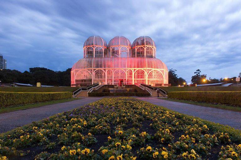 Estufa principal do Jardim Botânico de Curitiba 02