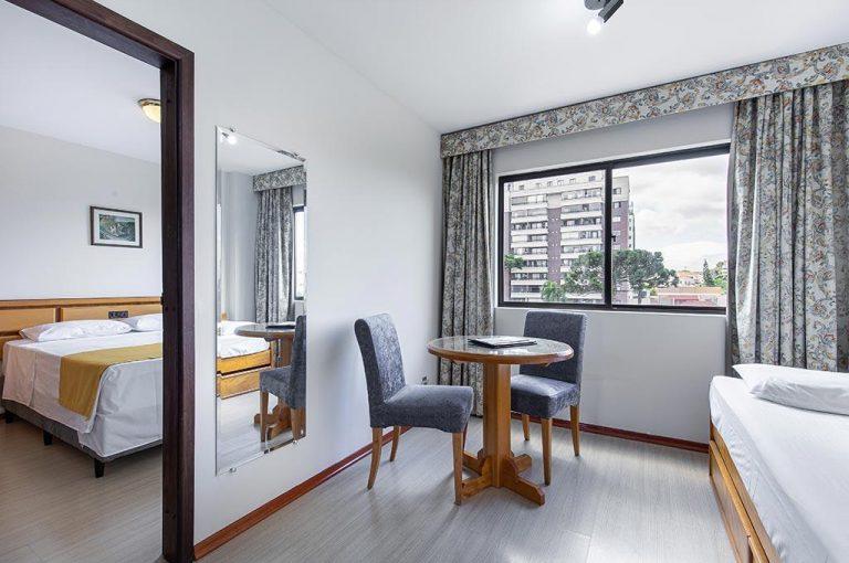 Flat Petras Curitiba hotel centro Curitiba 54