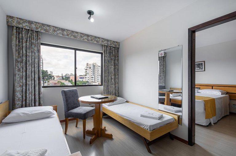 Flat Petras Curitiba hotel centro Curitiba 61